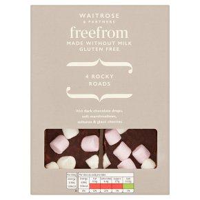 Waitrose Free From 4 Rocky Roads