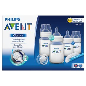 Philips Avent classic Nessential Waitroseborn starter set