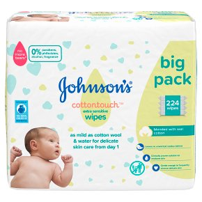 Johnson's Extra Sensitive Baby Wipe