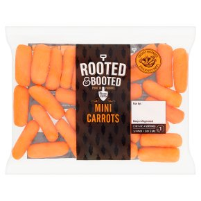 Rooted & Booted Mini Carrots