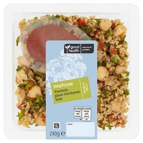 Waitrose World Deli Freekeh, Giant Chickpea, Kale