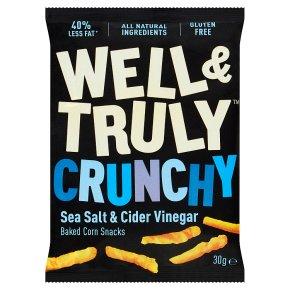 Well&Truly Crunchy Sea Salt & Cider
