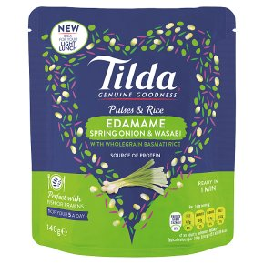 Tilda Pulses & Rice Edamame