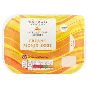 Waitrose Creamy Picnic Eggs