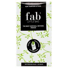 Fab Little Bag Sanitary Disposal Bathroom Pack