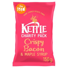 Kettle Chips Bacon & Maple Syrup Crisps