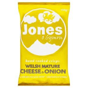 Jones crisps cheese & onion