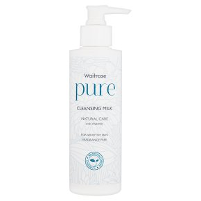 Waitrose Pure Cleansing Milk
