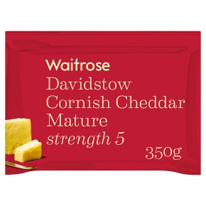 Waitrose Cornish Cheddar Mature Strength 5