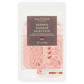 Waitrose German Sausage Selection 27 slices