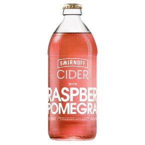 Smirnoff Cider with Raspberry & Pomegranate