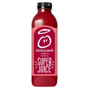 innocent super juice raspberry