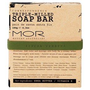 MOR Soap Bar Sencha Verbena
