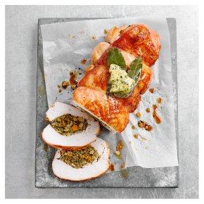 Turkey Breast Joint with Pork, Butternut Squash, Chestnut & Spinach Stuffing