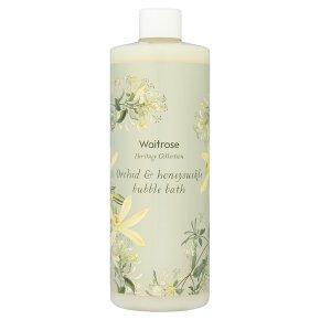 Waitrose Orchid & Honeysuckle Bath