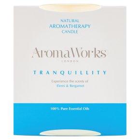 AromaWorks Candle Elemi & Bergamot