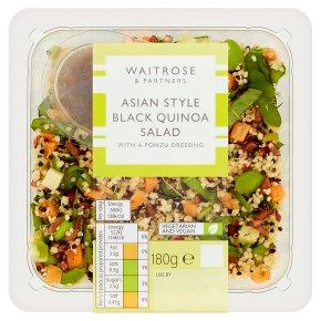 Waitrose Oriental black quinoa salad