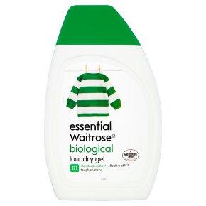 essential Waitrose Biological Laundry Gel 18 washes