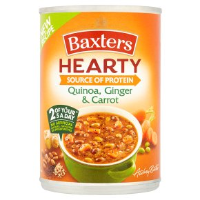 Baxters Hearty Quinoa, Ginger & Carrot Soup