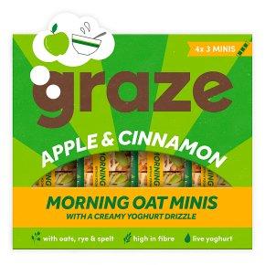 Graze Apple & Cinnamon Morning Oat Minis