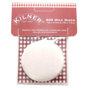 Kilner wax discs, pack of 200