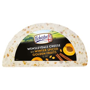 Wensleydale with spiced fruits