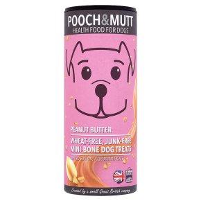 Pooch & Mutt Mini-Bone Treats Peanut Butter
