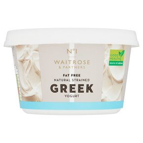 No.1 Fat Free Natural Strained Greek Yogurt