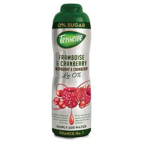 Teisseire 0% sugar raspberry & cranberry