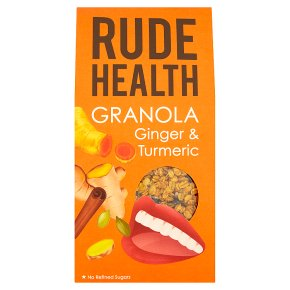 Rude Health Ginger & Turmeric Granola