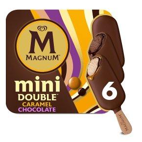 Magnum Mini Double 6s Caramel Chocolate