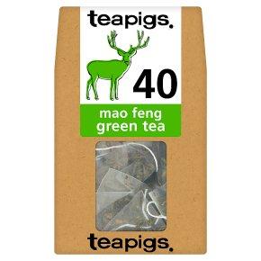 Teapigs Mao Feng Green Tea 40 Tea Temples