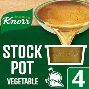 Knorr vegetable 4 pack stock pot