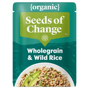 Seeds of Change Organic Brown Rice Quinoa, Barley & Wild