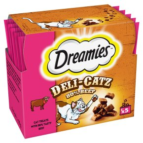 Dreamies Deli-Catz with Beef