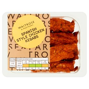 GOOD TO GO Spanish Style Chicken Kebabs