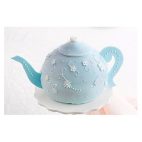 Miraculous Fiona Cairns Teapot Cake Waitrose Partners Personalised Birthday Cards Cominlily Jamesorg
