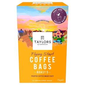 Taylors of Harrogate Flying Start 10 Coffee Bags