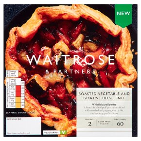 Waitrose Roasted Vegetable & Goat's Cheese Tart