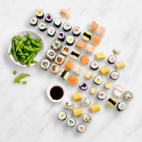 Taiko Sushi Canapé Platter