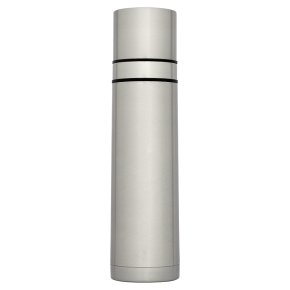 Waitrose 750ml silver vacuum flask