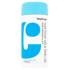 Waitrose Cod Liver Oil & Fish Oil