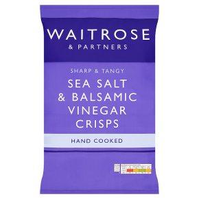 Waitrose Sea Salt & Balsamic Vinegar Crisps