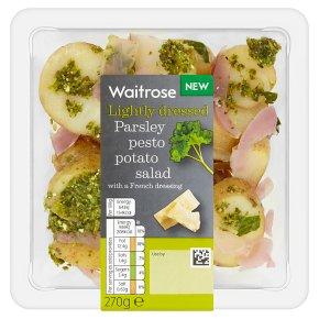 Waitrose Parsley Pesto Potato Salad