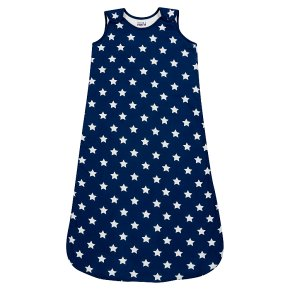 Waitrose STAR AOP BLUE SLEEPING BAG - BOY