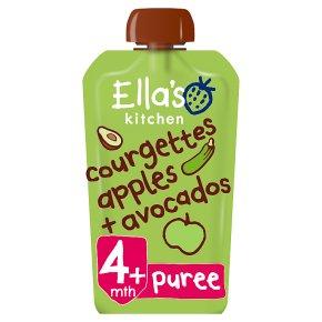 Ella's Kitchen Courgettes & Apples