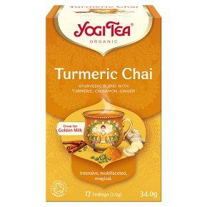 Yogi Tea Turmeric Chai Teabags
