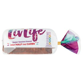 Livlife seriously seeded sliced bread