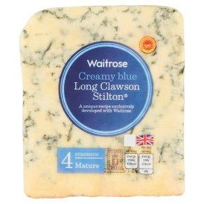 Waitrose Creamy Blue Long Clawson Stilton