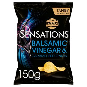 Sensations onion & balsamic vinegar crisps